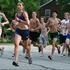 Crazy or dedicated? Suburban runners workout in extreme heat