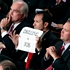 Lawmaker�s sign cracks decorum at Obama job speech