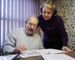 "While a rare brain disorder called Primary Progressive Aphasia is robbing Steve Riedner of the ability to say ""I love you,"" the Schaumburg man still manages to get that message across to Mary Beth, who has been his wife for nearly 39 years and now is also his caretaker."