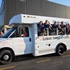 State champion Glenbard South softball team arrives in style