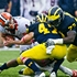 Robinson-led No. 25 Michigan routs Illinois 45-0