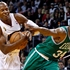 Heat get title rings, then win over Celtics