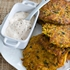 Southwestern Latkes with Chipotle Yogurt