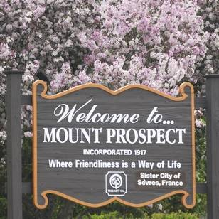 Welcome to Mount Prospect Sign