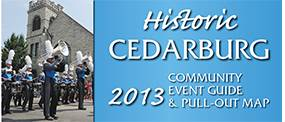 Cedarburg Community Event Guide & Map 2013