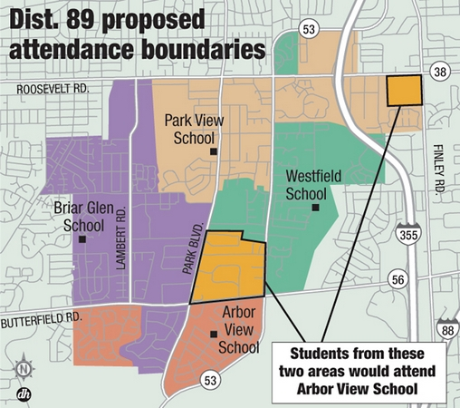 D89 proposed boundaries