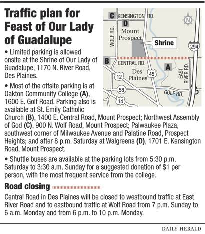 'Feast' traffic plan