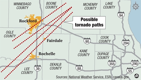 Fairdale Area Tornado Was A Violent Ef 4 Storm With Winds Up To 200 Mph