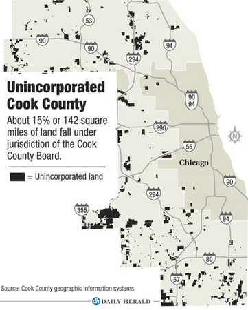 Cook County looks to save money by raising fees or annexing away ...
