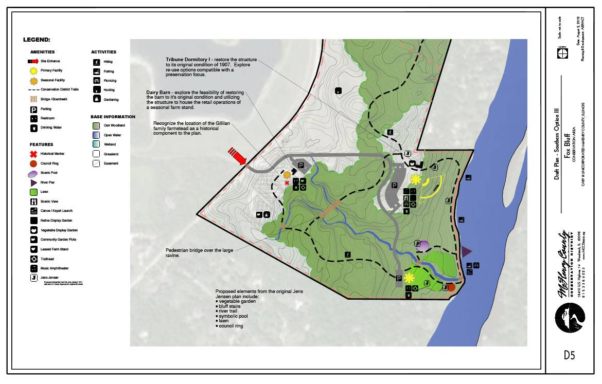 Fox Bluff Plan 3 -- south