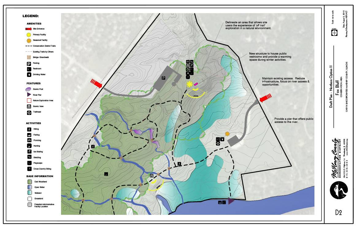 Fox Bluff Plan 1 -- north