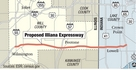 Proposed Illiana Expressway