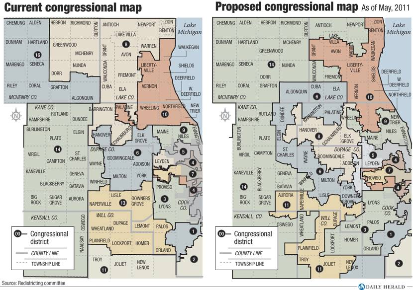 Proposed IL congressional rema