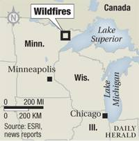 Minnesota wildfires