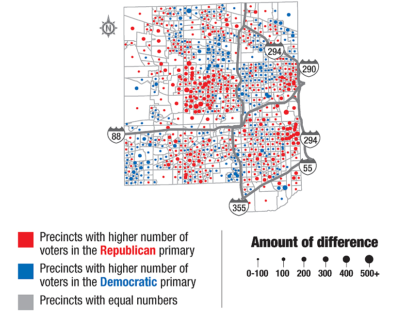 See how your neighbors voted in presidential primary