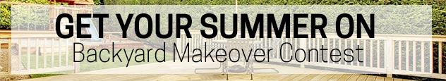 Get Your Summer On Backyard Makeover Contest