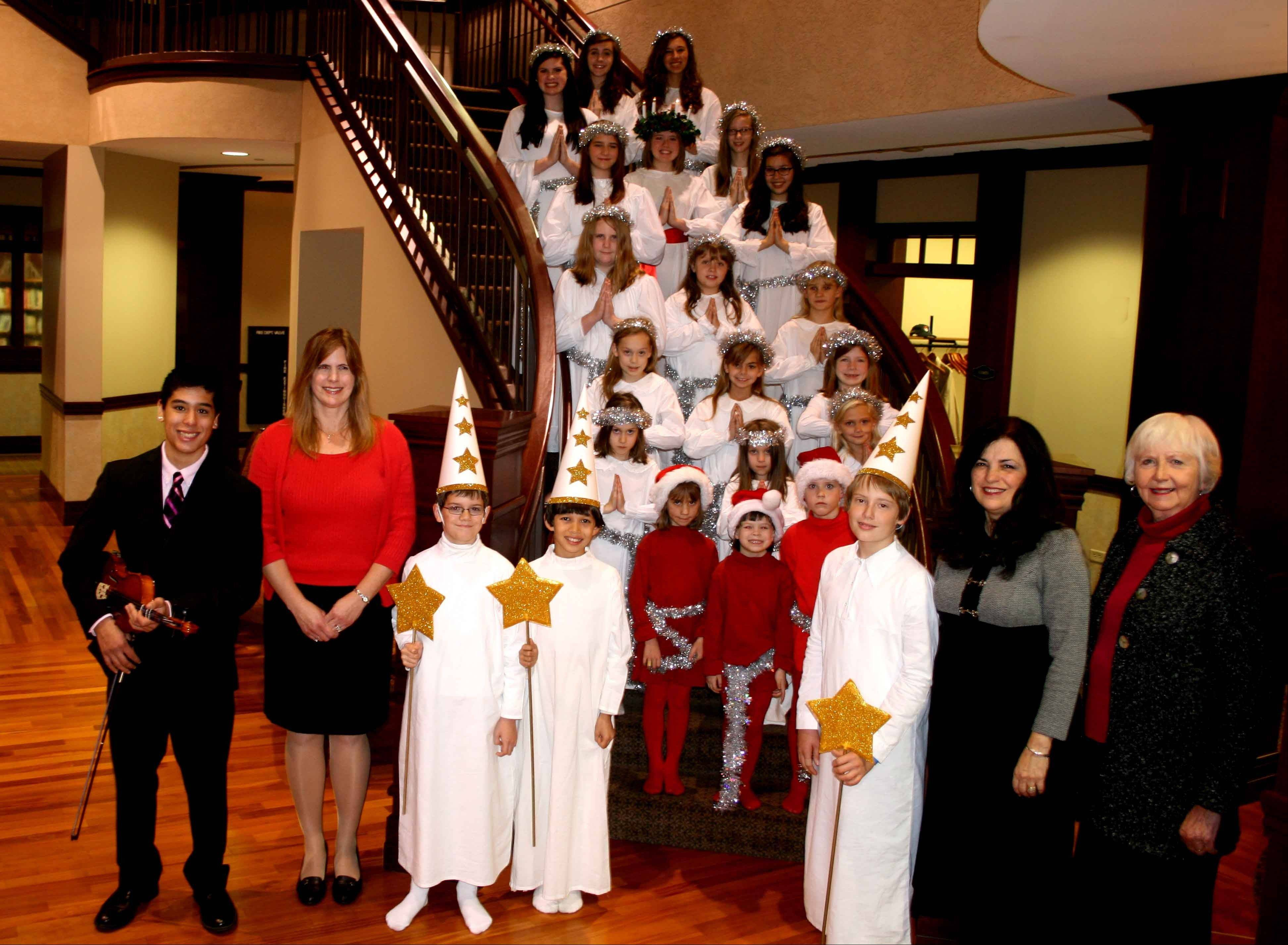 Tickets available for the Swedish American Children's Choir's 14th annual Swedish Christmas and St. Lucia Festival on Saturday, Dec. 1.
