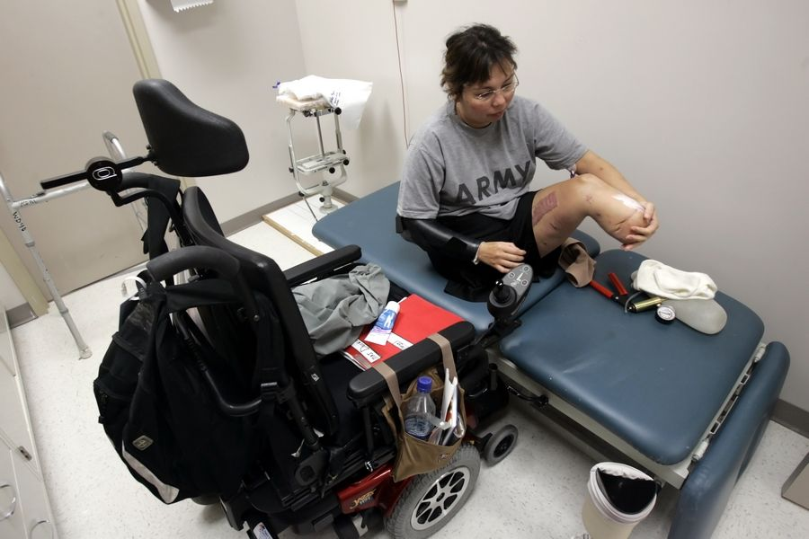 Tammy Duckworth went through 13 months of recovery at Walter Reed Army Medical Center in Washington, D.C.