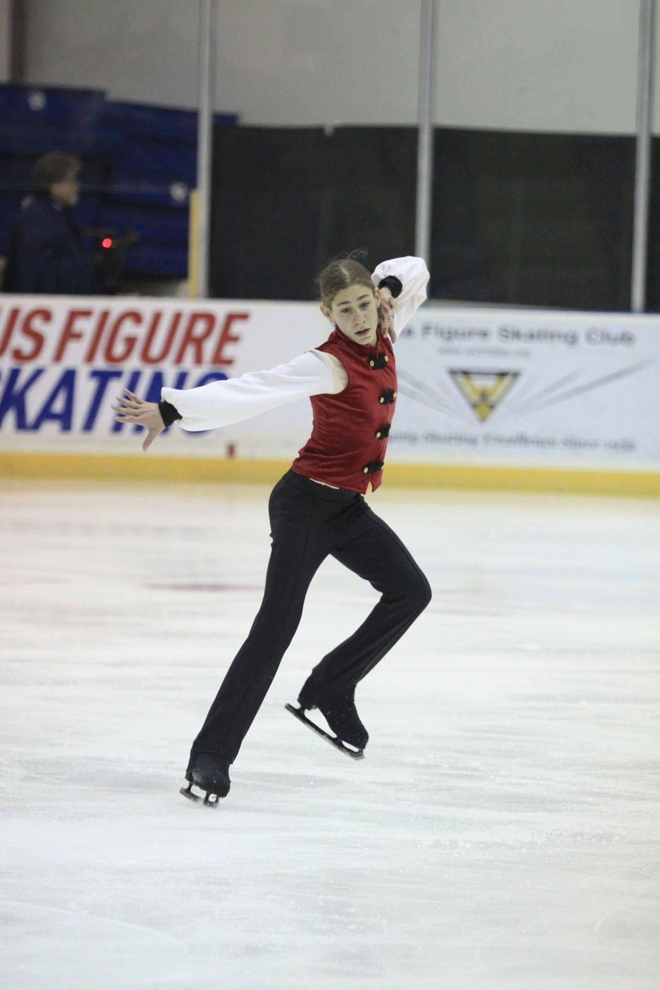 Jason Brown performs at the Midwest sectionals in Wichita this past November.