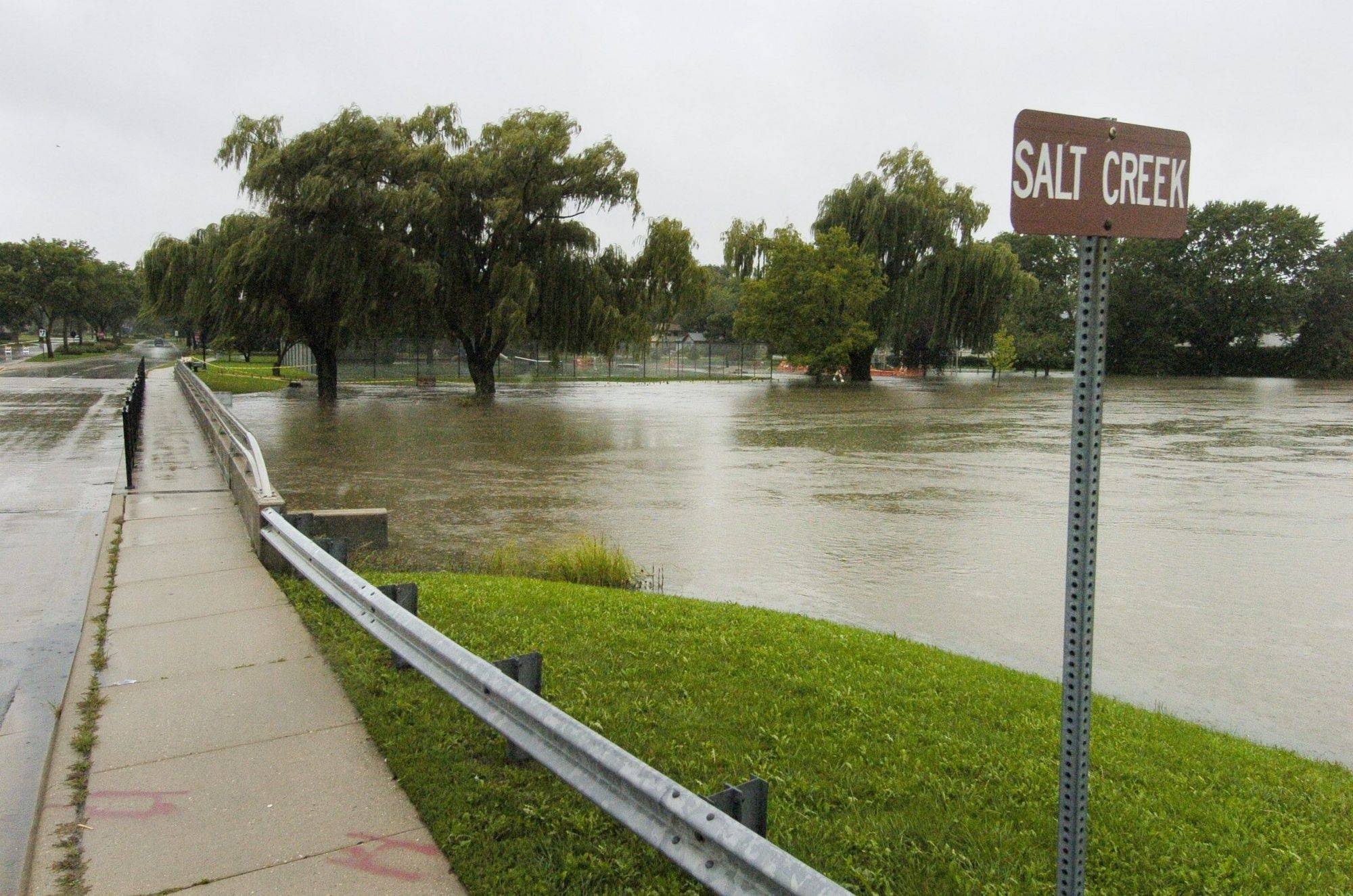Elk Grove Village explores fix for Salt Creek flooding