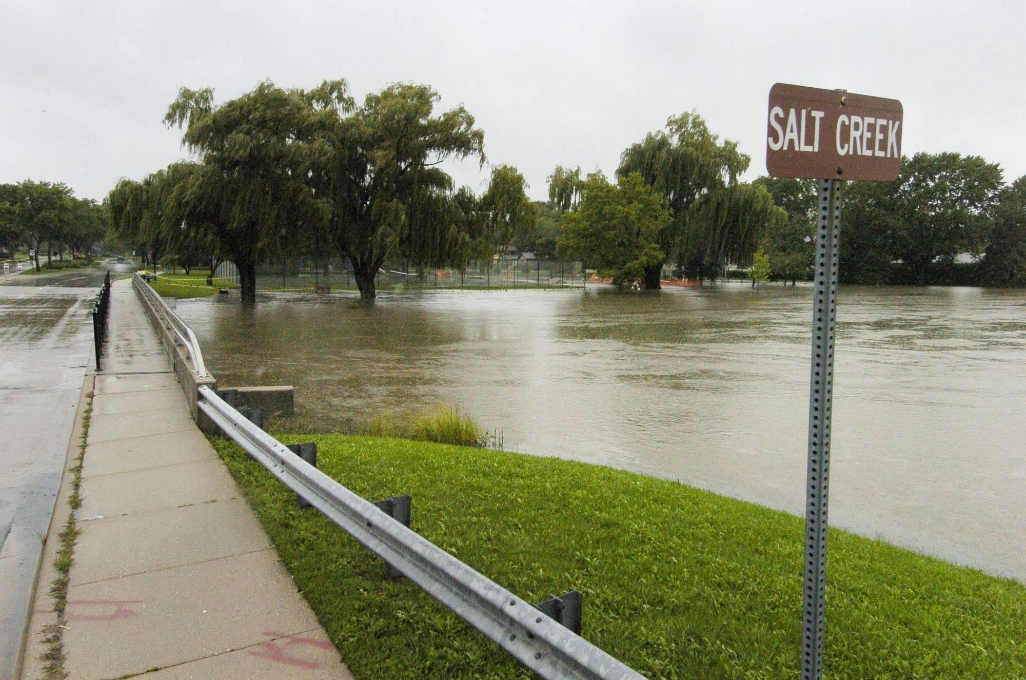 Elk Grove Village explores fix for Salt Creek flooding