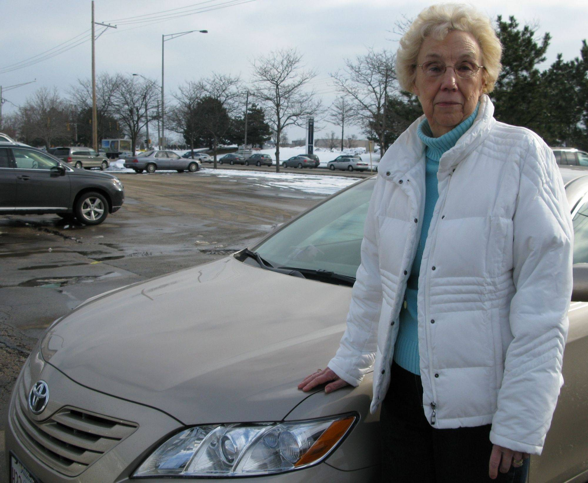 Evelyn Loper of Hoffman Estates, who recently bought this 2009 Toyota Camry, says it may be the last Toyota she purchases because of the automaker's handling of the national recall of 2.3 million vehicles affected by a sticky accelerator pedal.