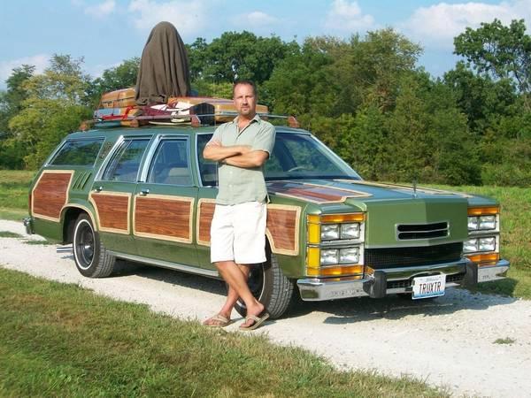 'Family Truckster' lives, thanks to Wheaton man