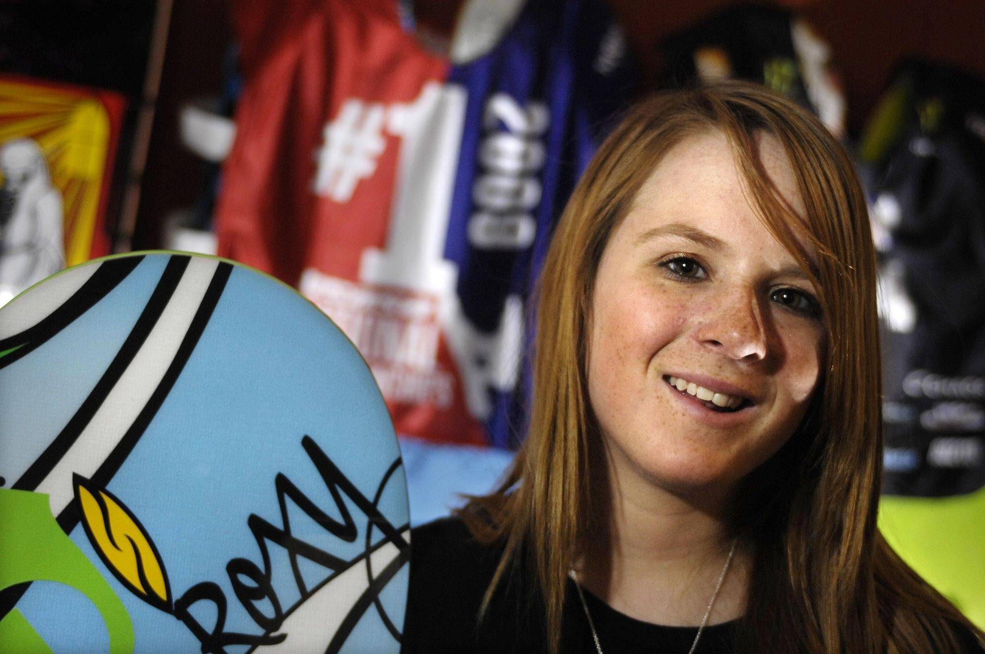 Kirby Kelly, 14, of Algonquin won two events inn a national snowboarding competition.