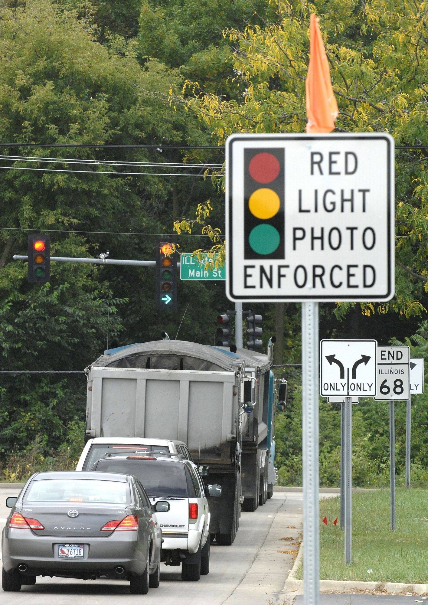 National red-light-camera protest comes to area