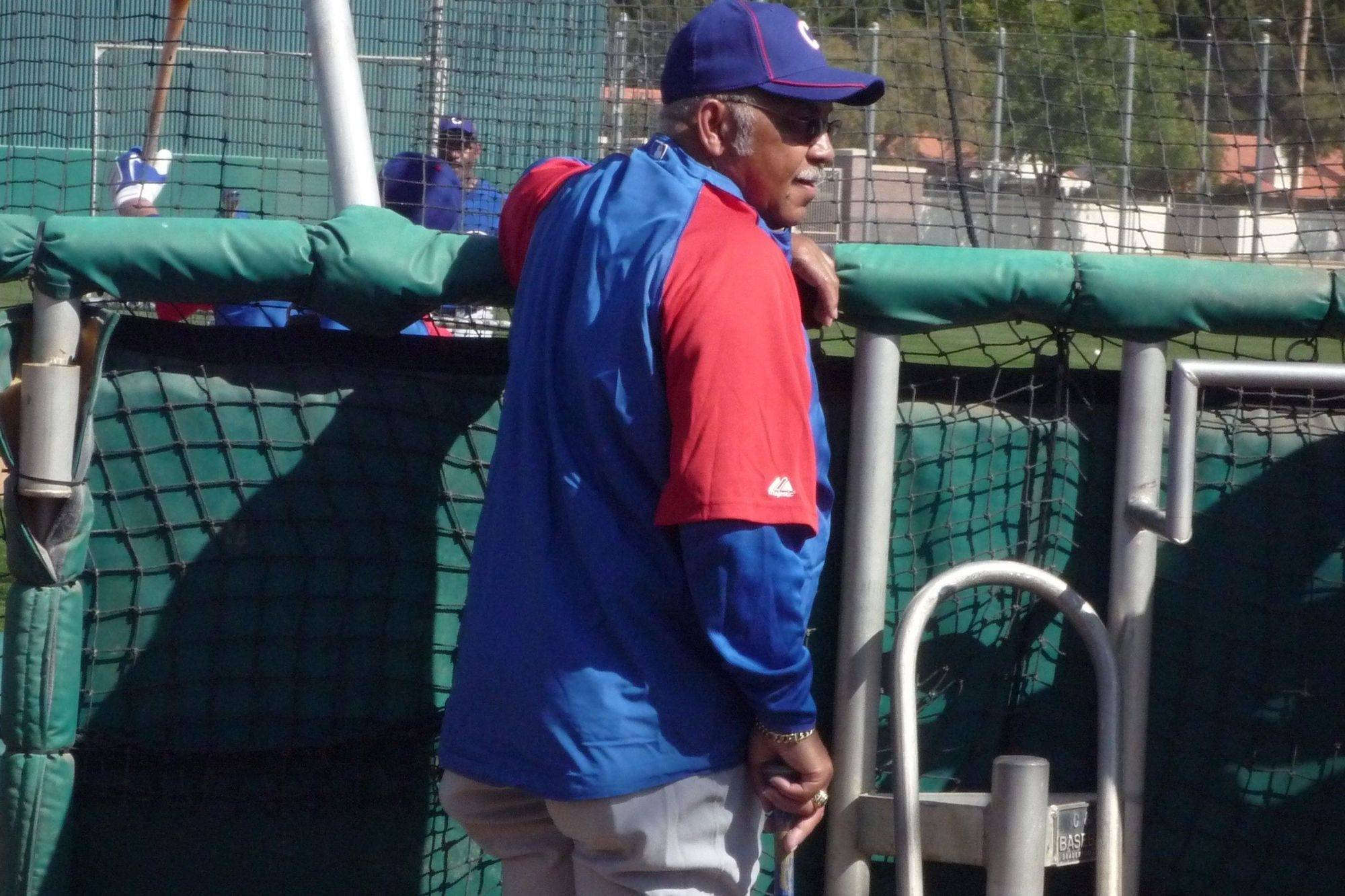 Baseball season has officially returned with the arrival of Hall of Famer Billy Williams at Cubs camp this week.