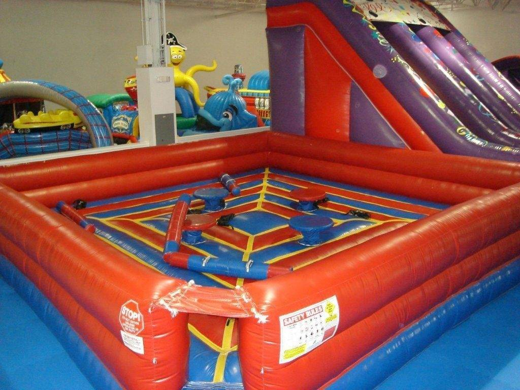 Ten different inflatables provide all kinds of fun for children at Airtastic Play Land.
