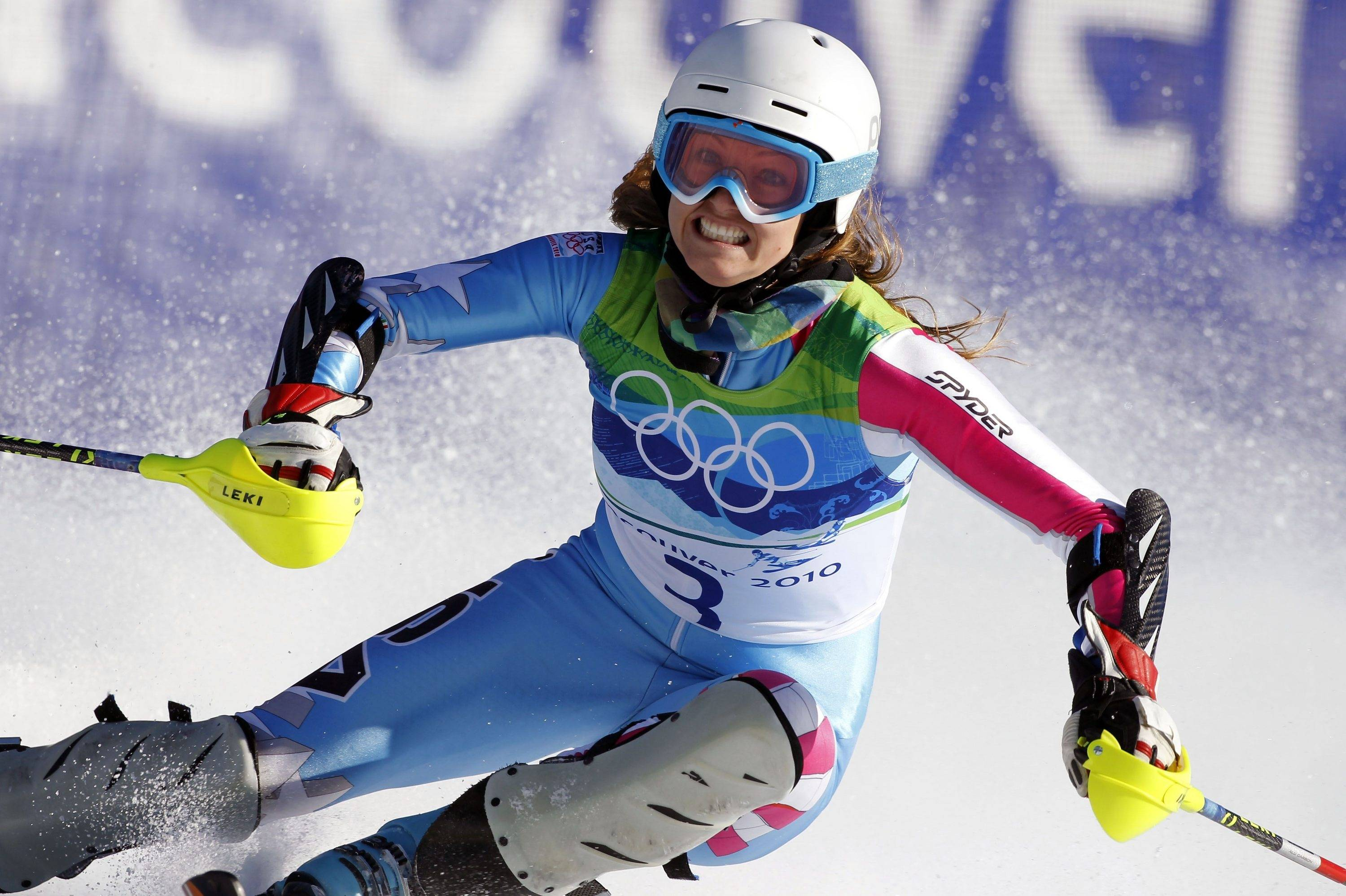 Content with her two silver medals, Julia Mancuso has decided not to enter Friday's Olympic slalom.