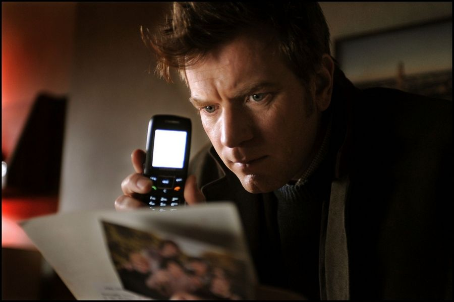 "A writer (Ewan McGregor) takes over the memoirs of a politician accused of war crimes in ""The Ghost Writer."""