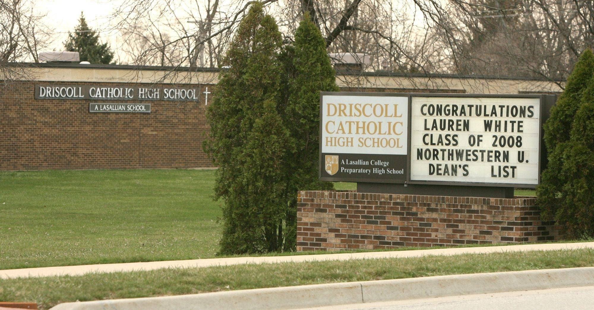 Addison officials may buy the former Driscoll Catholic High School site at 555 N. Lombard Road.