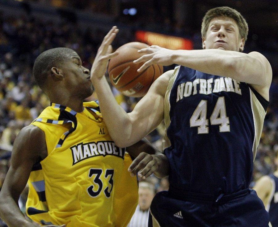 Harangody's return gives Irish big lift over Marquette
