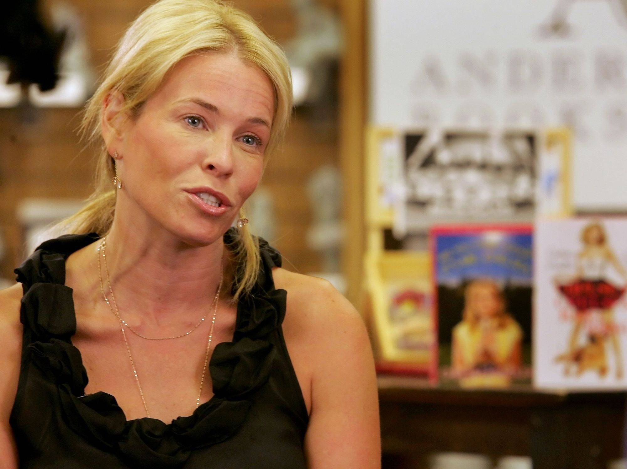 "Chelsea Handler made Naperville the second stop on her comedy and book-signing tour Wednesday for her new book, ""Chelsea Chelsea Bang Bang."""