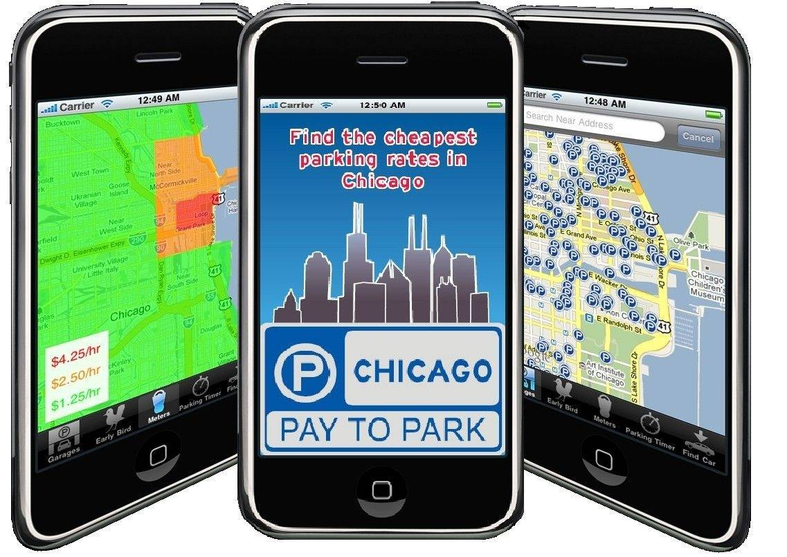Nick Capizzani's iPhone application helps people find the cheapest parking options in Chicago. It also alerts those parked on the street when their meter is about to expire and provides directions to get back to the car.