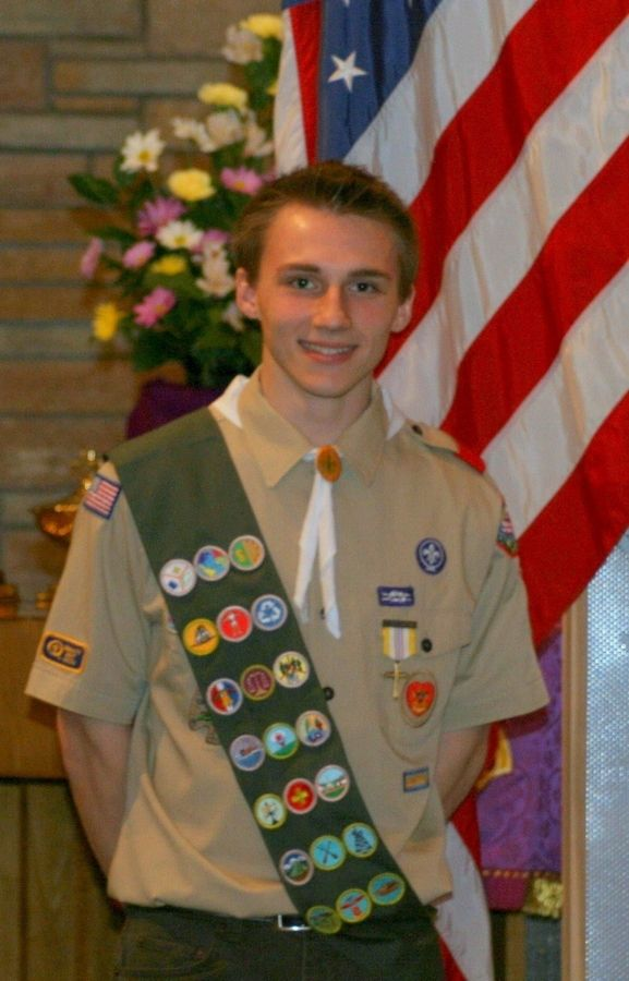St  Edward senior earns Scouting's Eagle rank