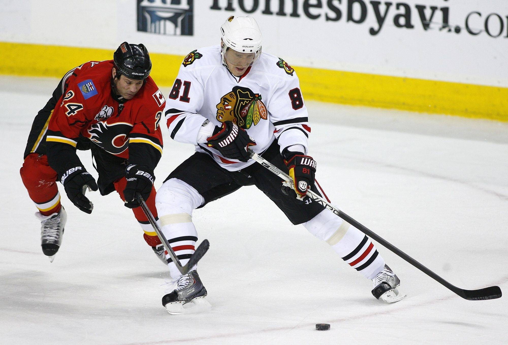 Through 50 games with the Blackhawks, Marian Hossa collected 22 goals and 22 assistsm not quite the dazzling numbers expects for a hockey star earning $7.5 million this season. The Blackhawks, however, like what he brings to the team.