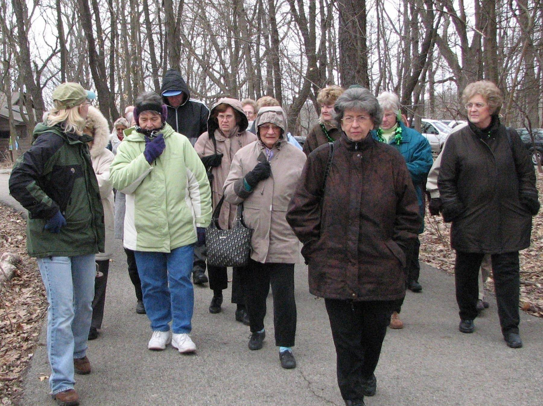 With warmer weather on the way, local trails will soon be bustling with walkers -- including those from a new 50-and-older walking group. The Fox Valley Park District will launch the group this month as part of a national initiative to develop healthier communities through walking.