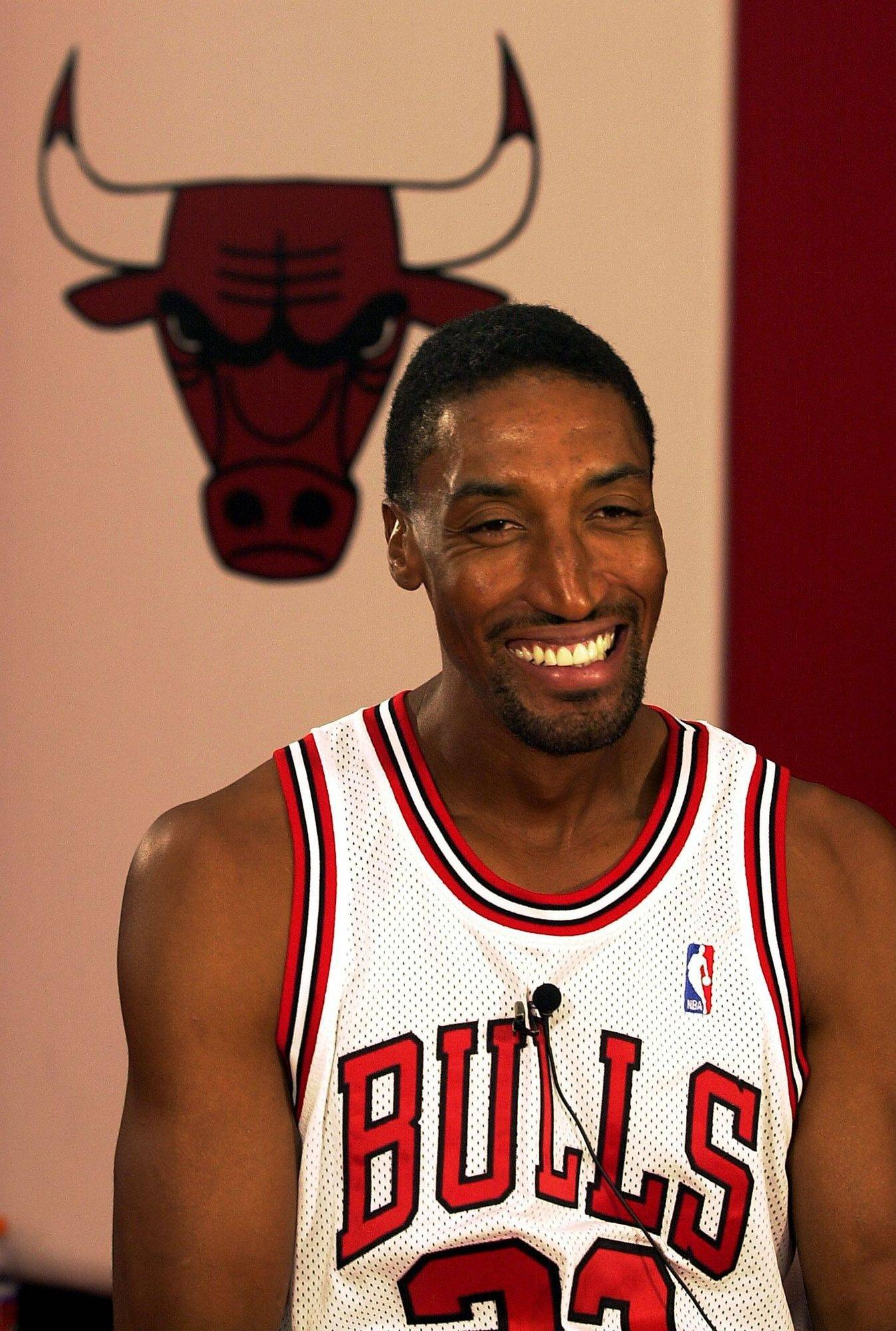 Scottie Pippen returned to the Bulls for the 2003-04 season.