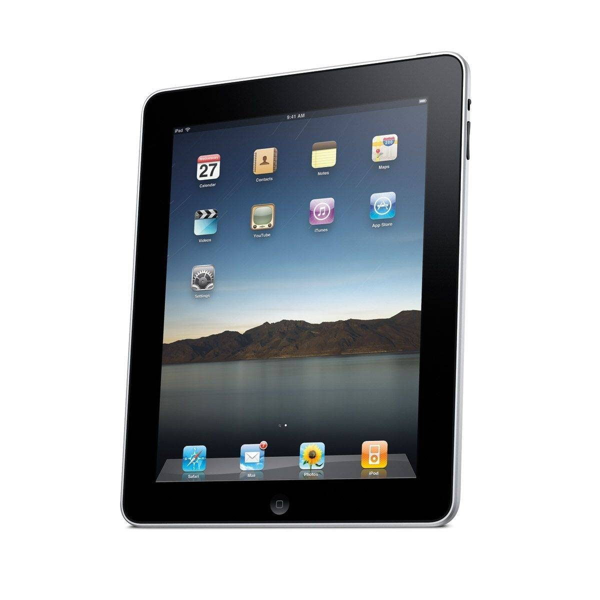 Apple Inc. said Monday that it delivered more than 300,000 iPads on its opening day.