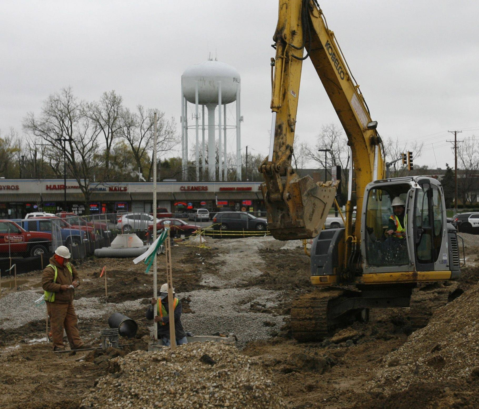 Work begins on bank at former Brown's Chicken site in Palatine