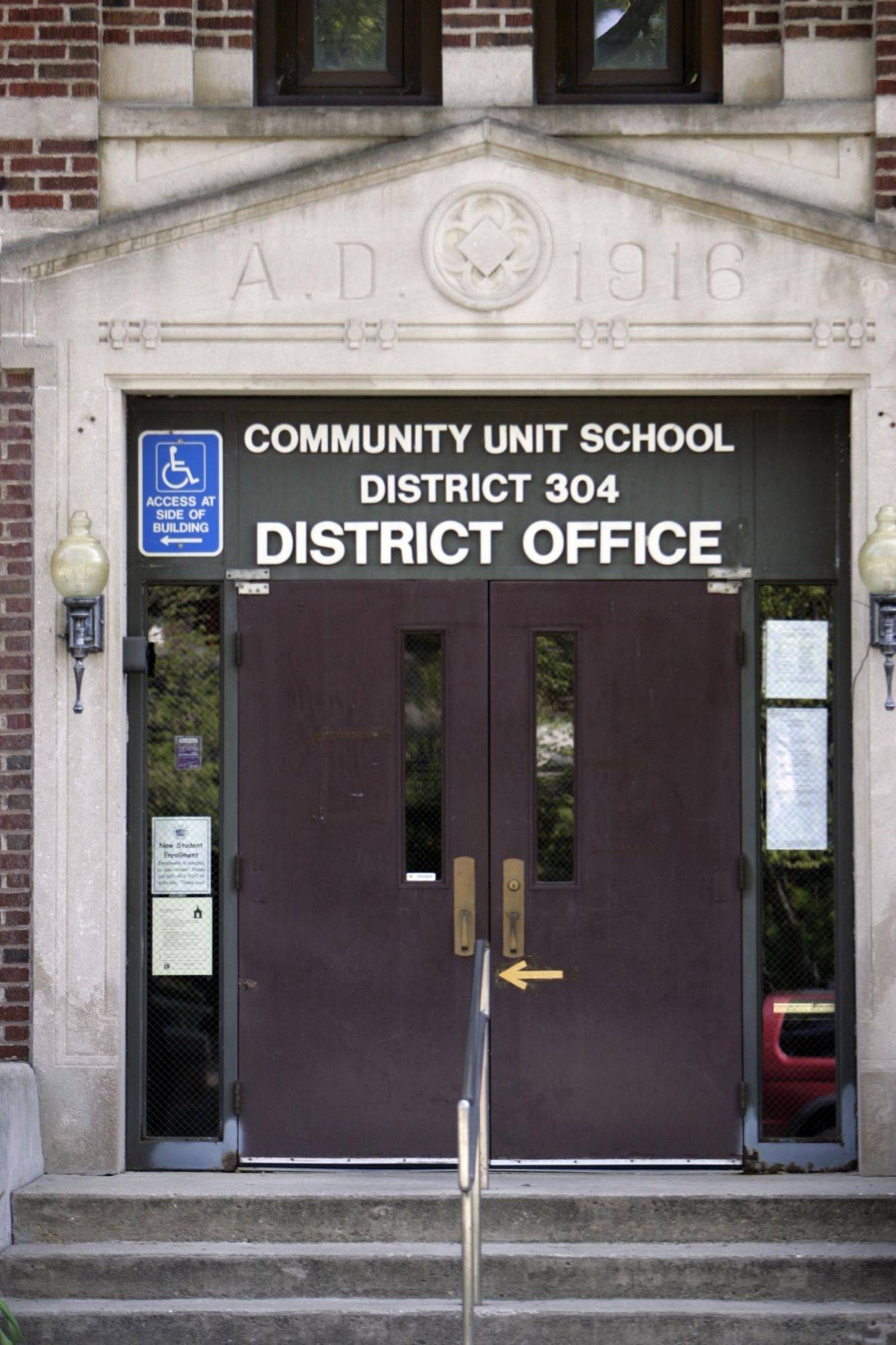 Geneva Unit District 304 is near the top of a list of suburban schools forced to pay penalties to the state for giving raises that inflated retiree's pensions.