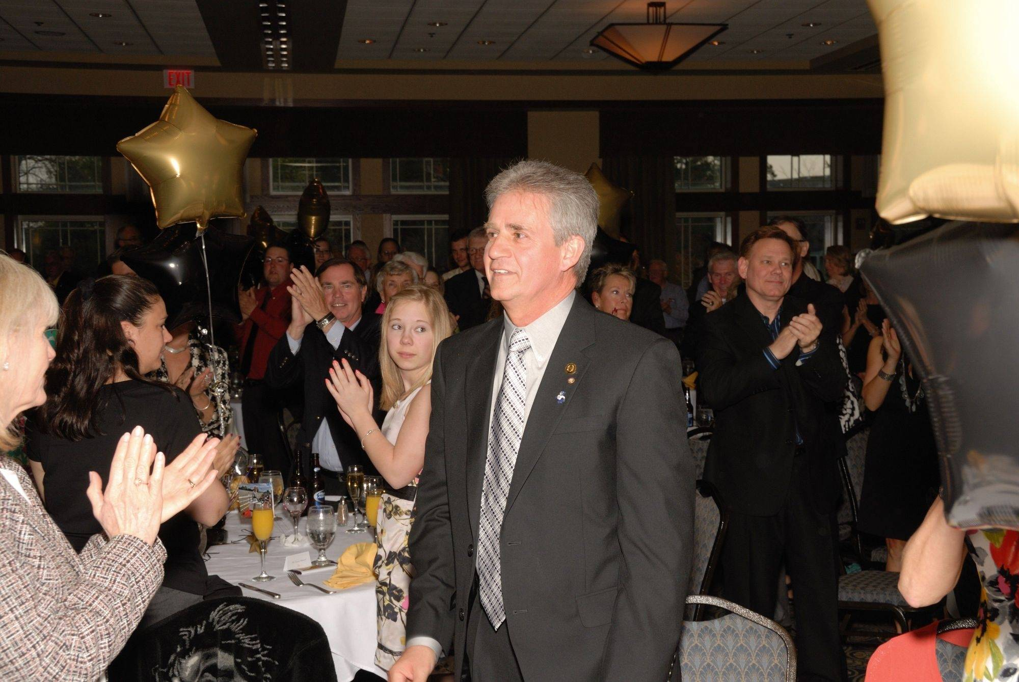 Longtime Buffalo Grove Park District Executive Director Michael Rylko was feted at a retirement party last week.