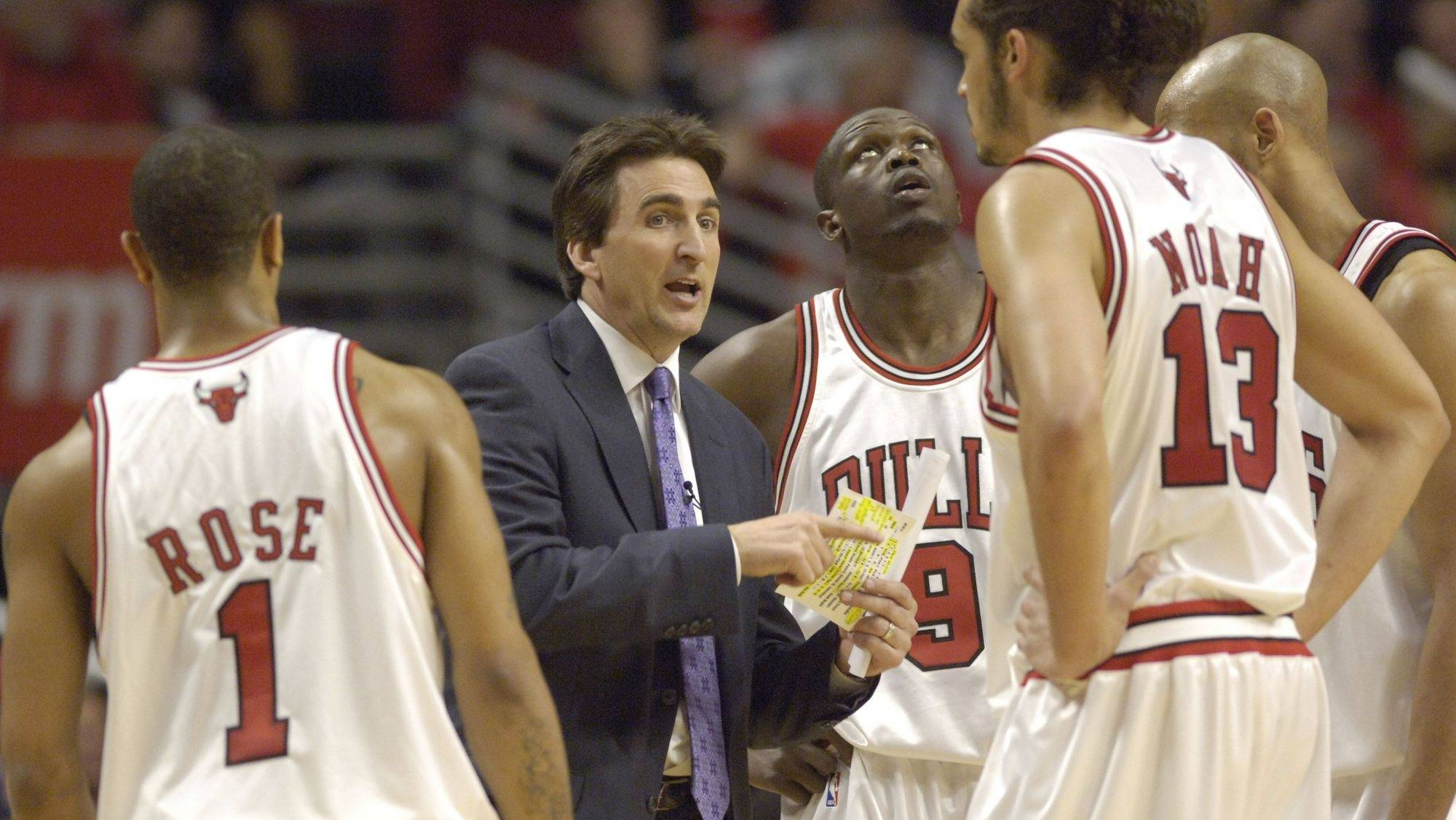 Head coach Vinny Del Negro could be coaching his final game with Bulls Tuesday.