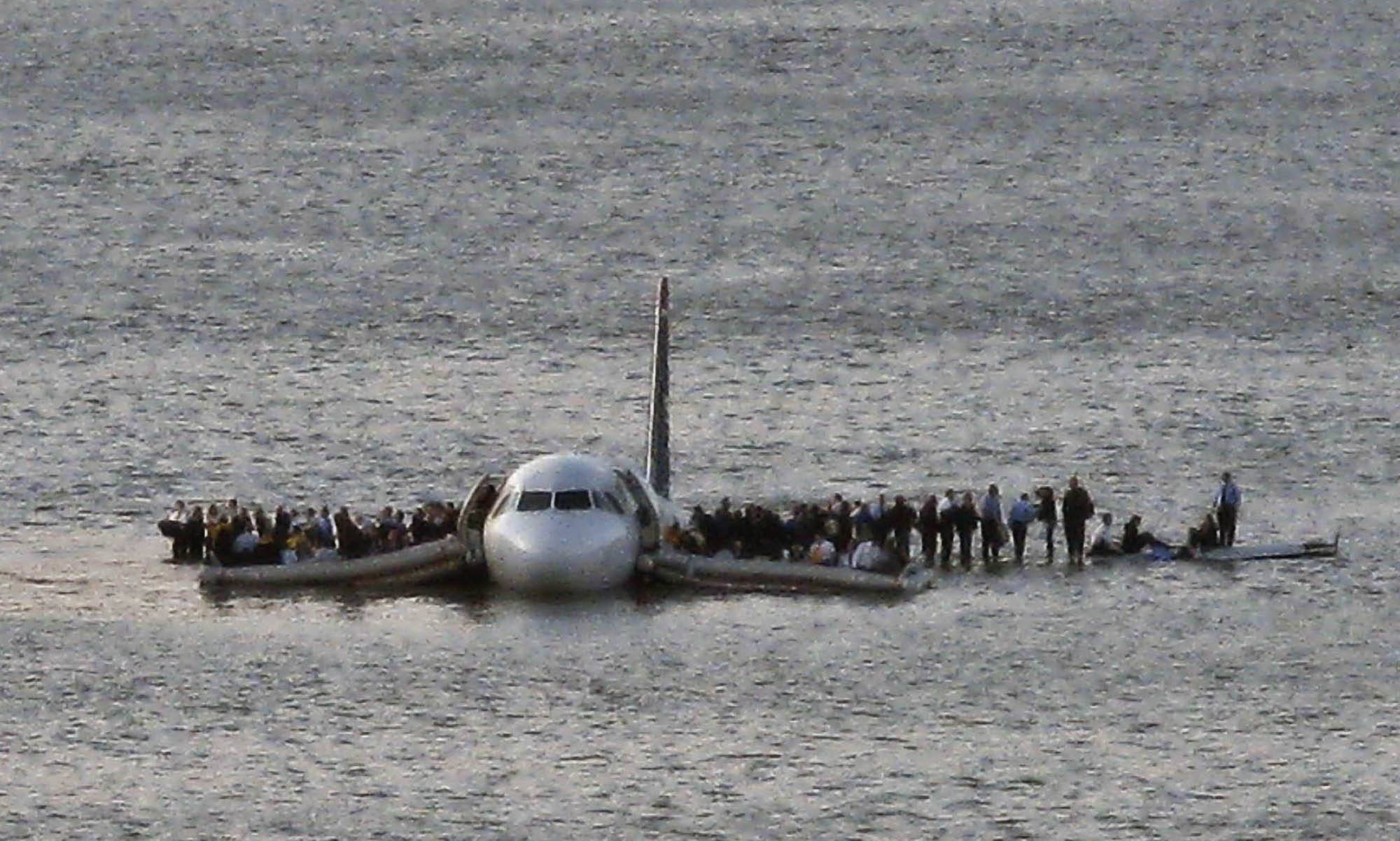 NTSB documents show the plane that splashed down in the Hudson River last year could have made it back to New York's LaGuardia Airport -- barely.