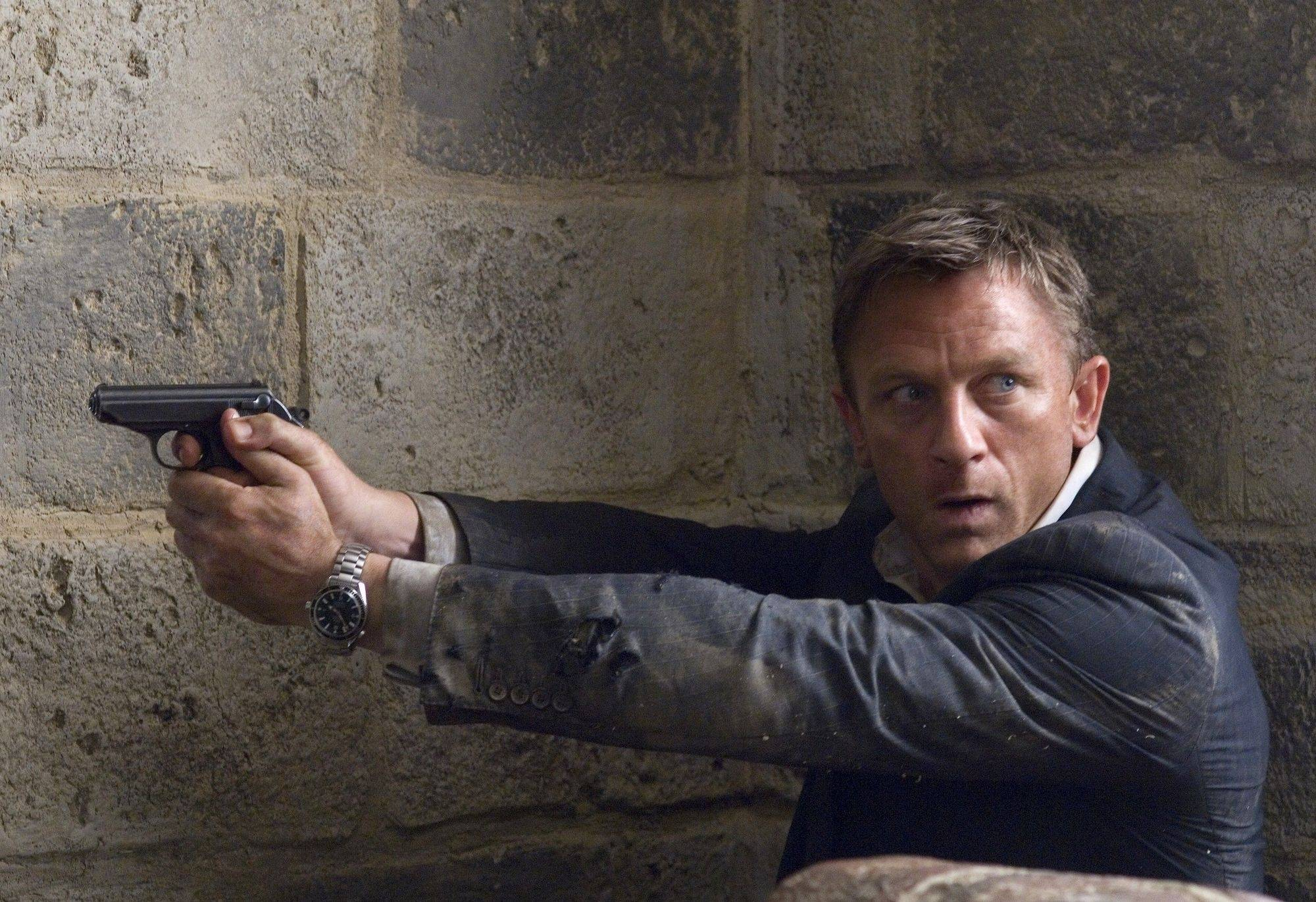 "Bond fans may have to wait awhile for next film to hit the multiplex. The last was ""Quantum of Solace,"" starring Daniel Craig in his second outing as 007."