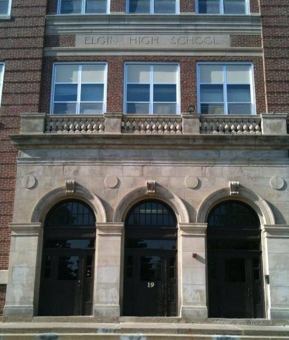 "As workers were getting ready to place the name ""Elgin High School"" on the school - now the district's central office - a century ago, one board member had a different idea. It's a plan most alumni are probably glad never caught on."