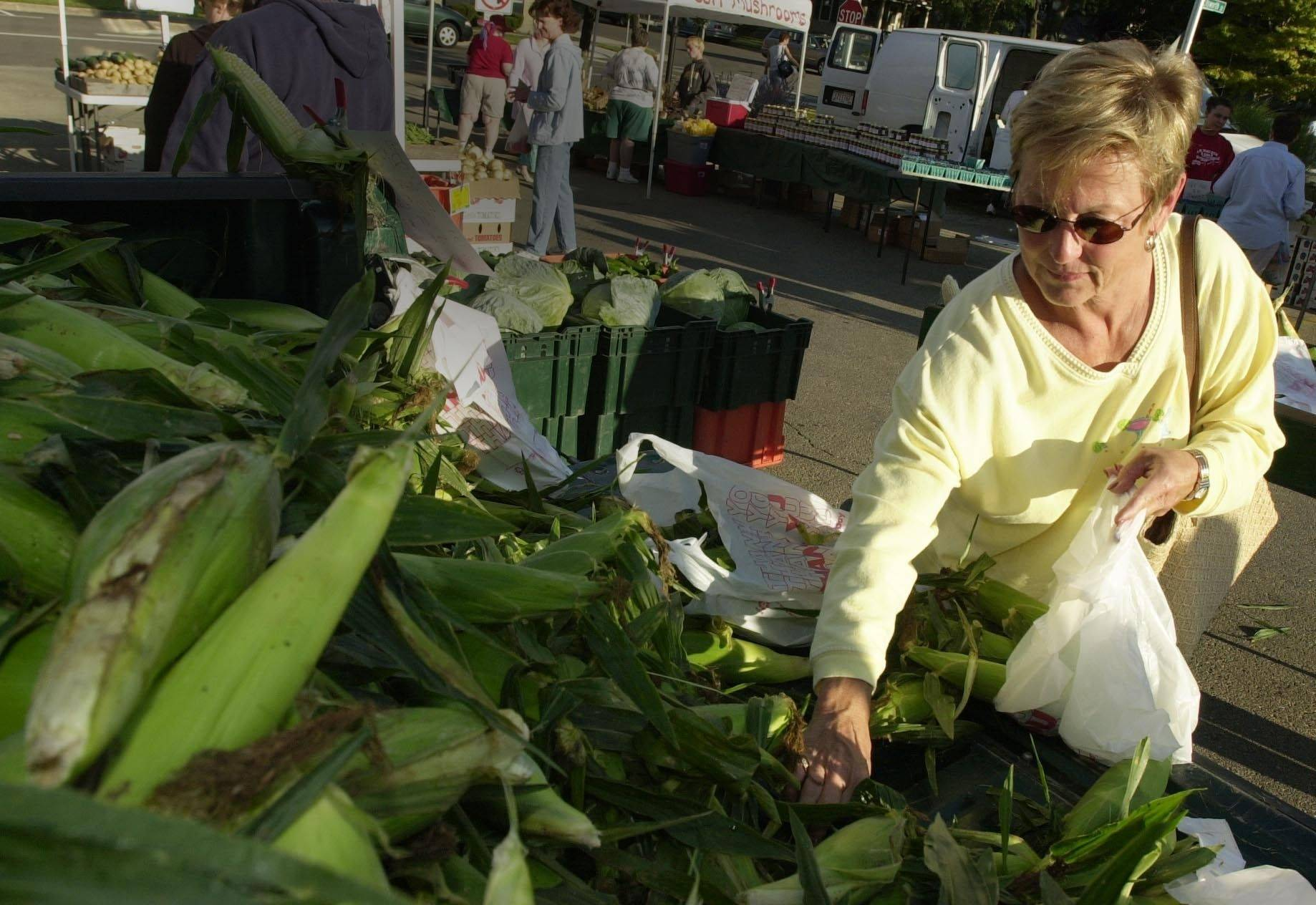 The farmers market at Naperville's Fifth Avenue Station will open for the season in a few weeks and continue from 7 a.m. to noon Saturdays through the last weekend in October.